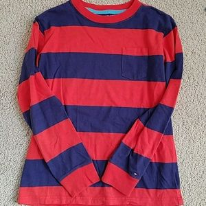 Tommy Hilfiger long sleeve boys shirt size 8/10